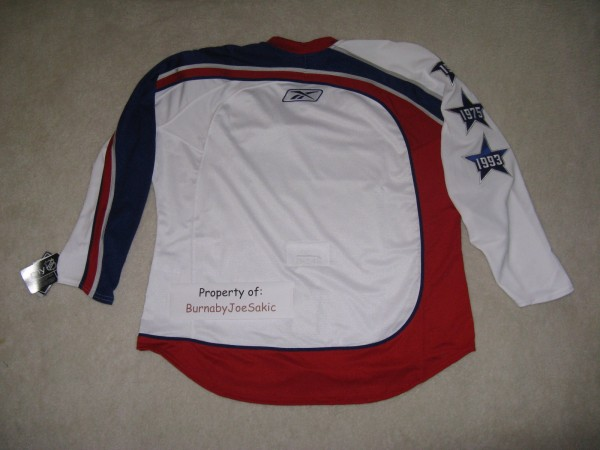 2009 Western Conference All-Star Jersey back
