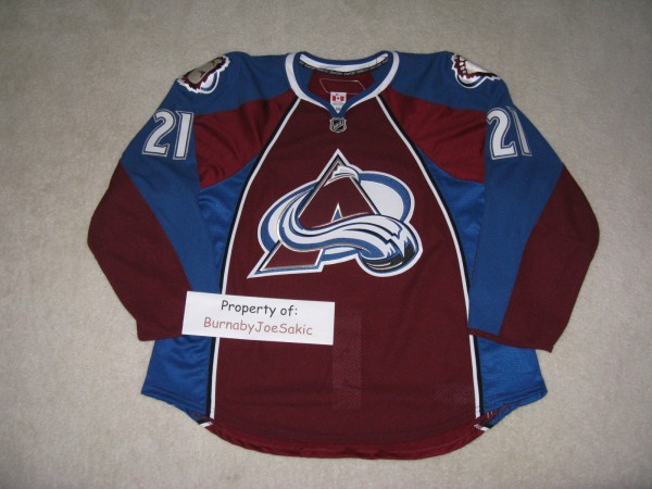 Peter Forsberg 2010-2011 Burgundy Set II GI