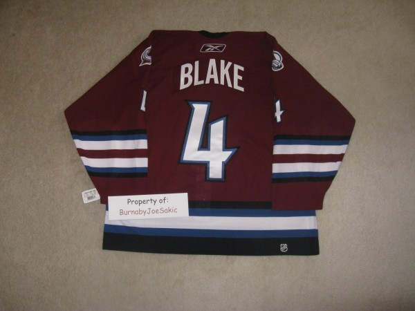 Blake 05-06 Burgundy Alternate back