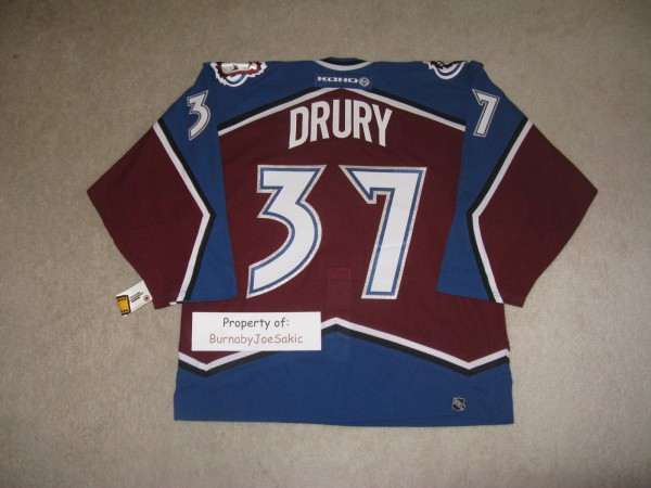 Drury 2000-2001 Burgundy back
