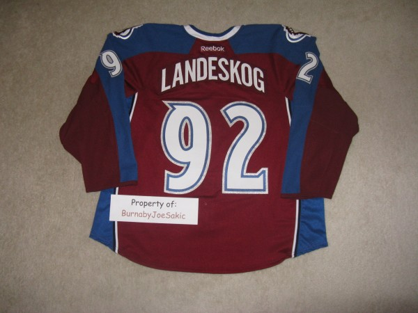 Landeskog Burgundy Debut back