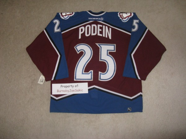 Podein 2001 Burgundy SC back