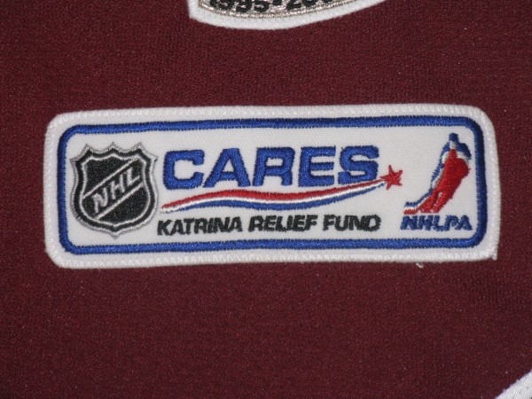 Dan Hinote 2005 Katrina Relief patch