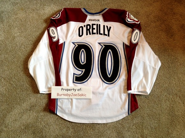 Ryan O'Reilly 2013-2014 White Set II back