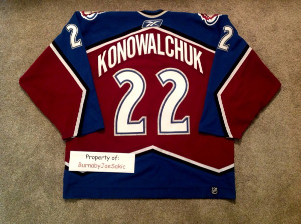 2005-2006 Burgundy Kono Back