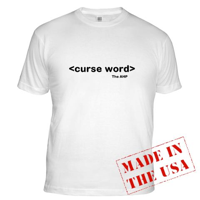 curseword light shirt